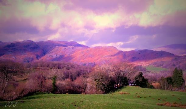 coloured hills